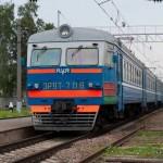 Электропоезд Минск-Борисов
