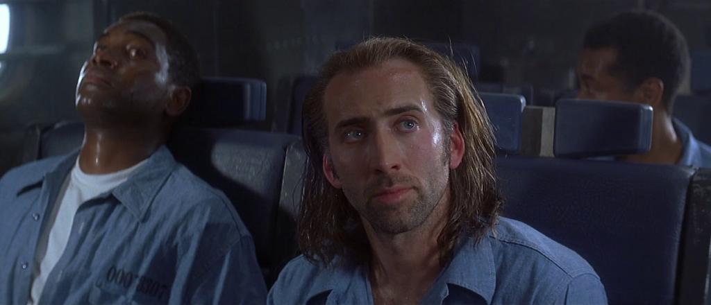 """Кадр из фильма """"Воздушная тюрьма"""" (1997)."""